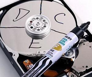 восстановление разделов диска