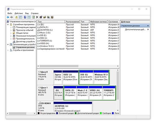 как отформатировать HDD