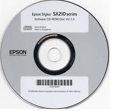 диск с драйверами для принтера