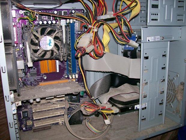 системный блок компьютера