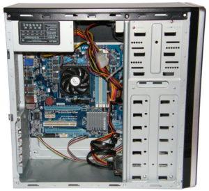 Диагностика внутренних деталей PC
