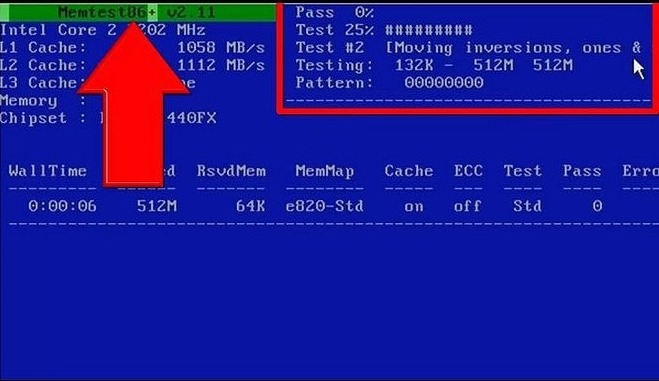 Test-Ram-with-MemTest86