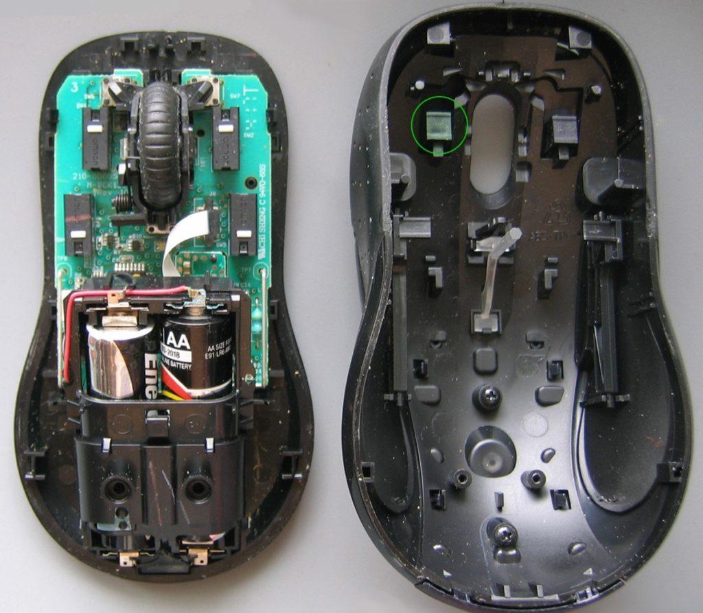 мышка в разборе