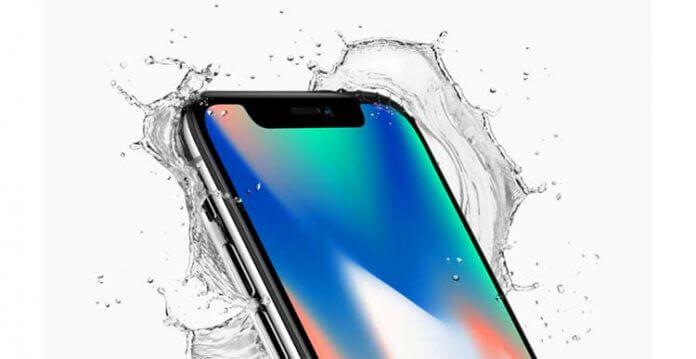 Защита от воды в Айфон 10