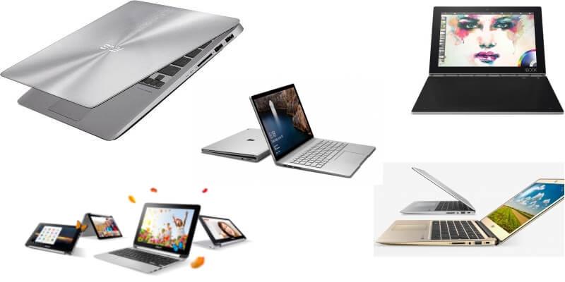 Обзор лучших ноутбуков для учёбы и работы