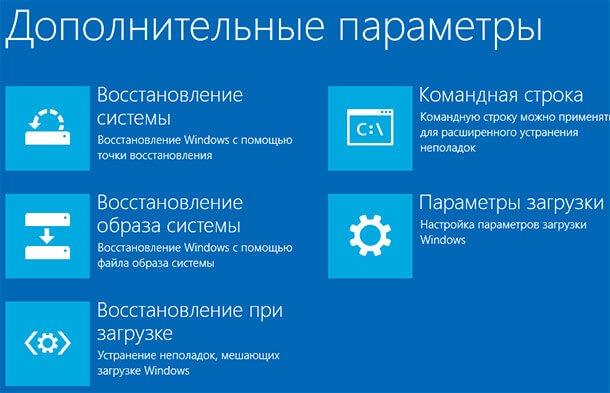 Режимы загрузки Windows 10