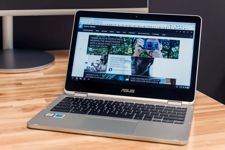 Chromebook Flip обзор