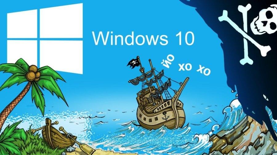 Установка пиратской Windows 10