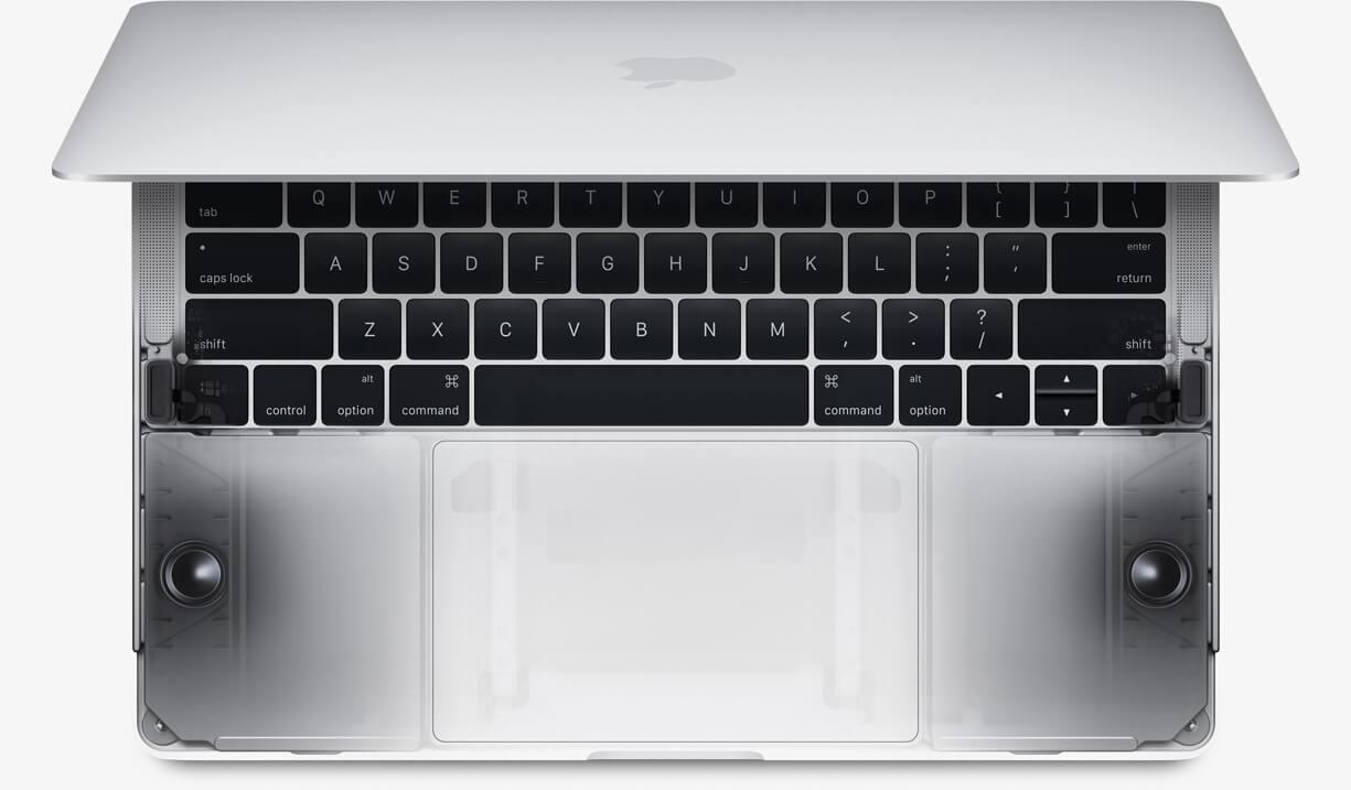 Динамики macbook pro 2017