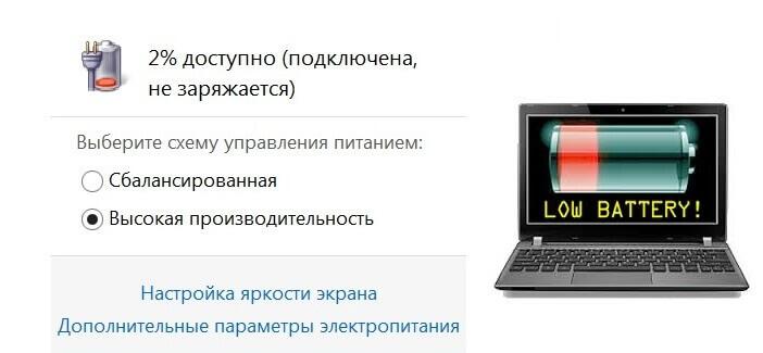 На ноутбуке леново не заряжается батарея. Не заряжается ноутбук Lenovo — что делать?