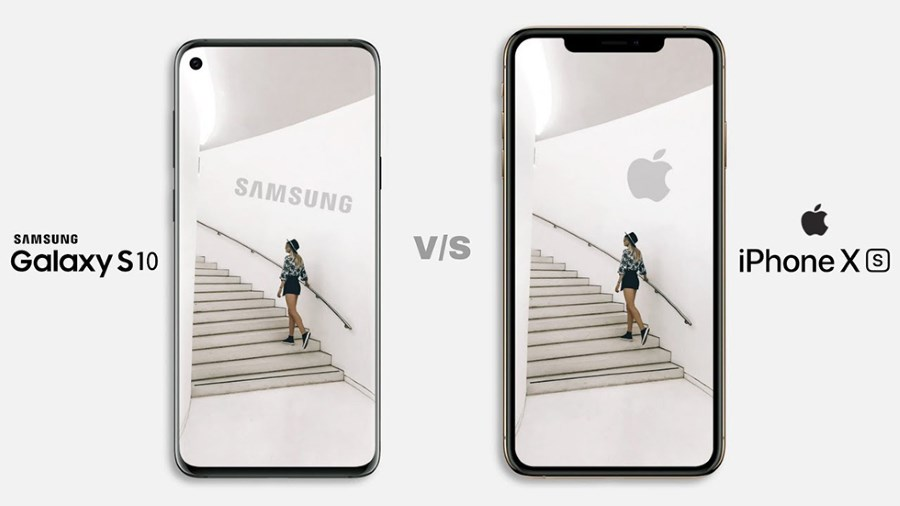 Сравнение айфона и самсунга