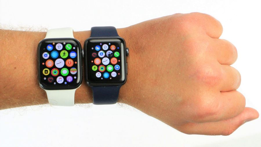 Сравнение Apple Watch 3 и 4