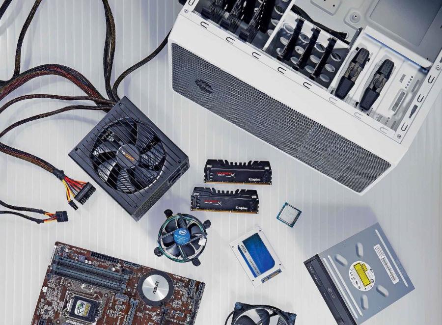 Самостоятельная сборка компьютера