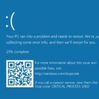 Как избавиться от синего экрана Windows 10?