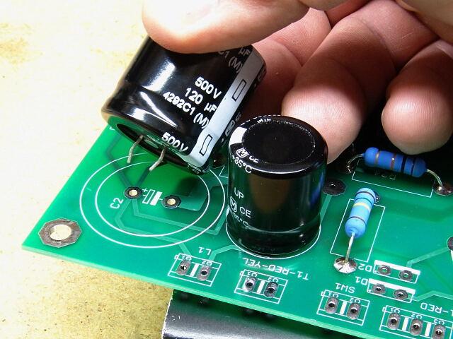 Замена конденсатора в аудиоустройстве