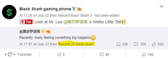 Новый геймерский смартфон Black Shark